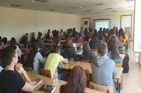 """Д-р Антонина Кардашева изнесе лекция пред студенти от катедра """"Психология"""" в ЮЗУ"""